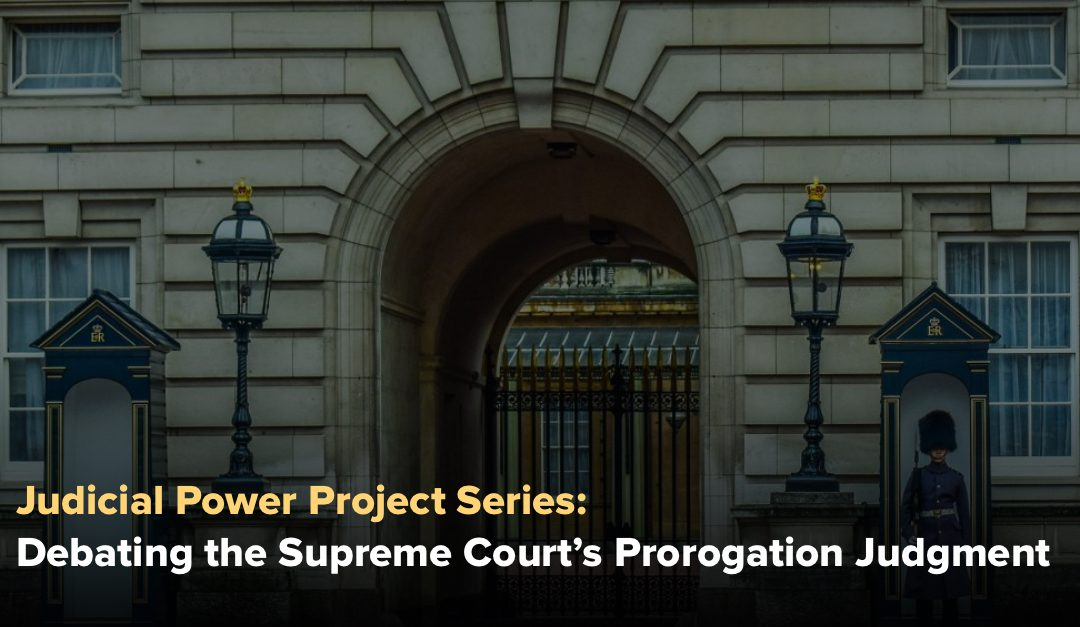 Philippe Lagassé: Taming the Crown in Court: Waning Executive Dominance in the United Kingdom