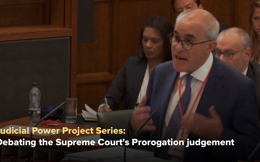 John Larkin: The Supreme Court on prorogation and its justiciability