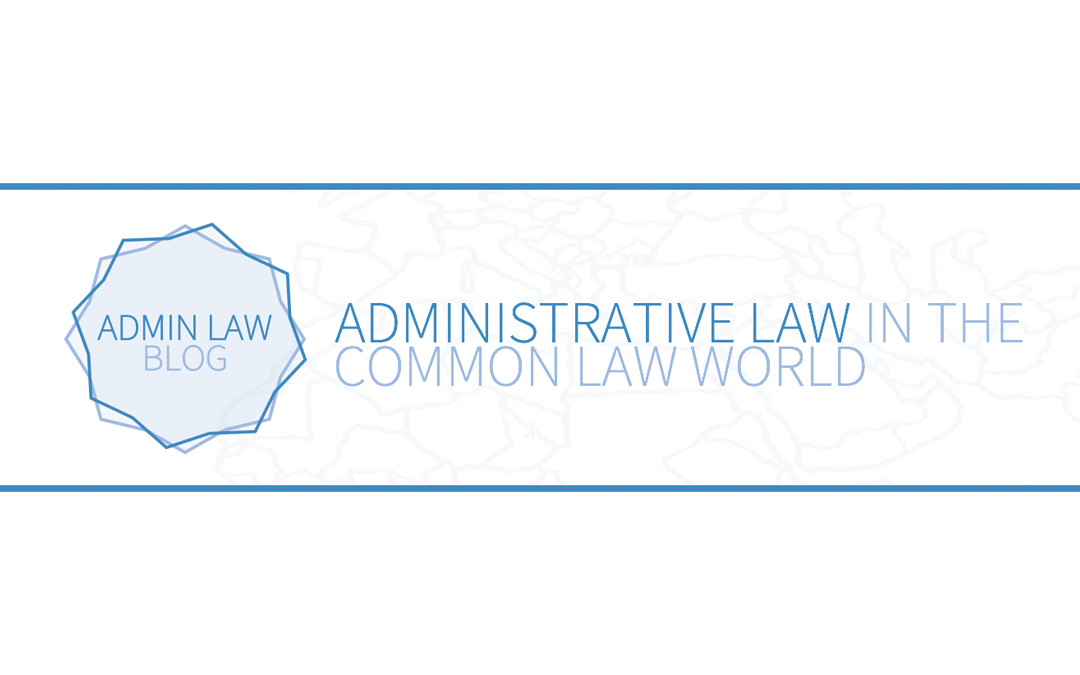 Launch of the Admin Law Blog
