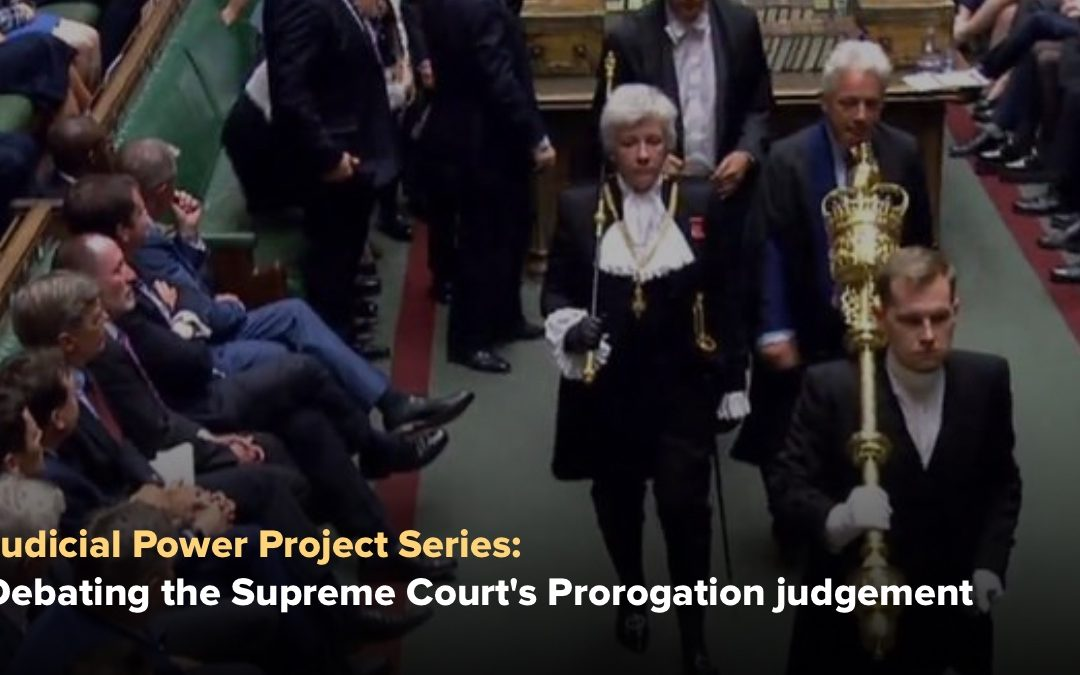 Emmett Macfarlane: Prorogation, politics and the courts: a Canadian perspective